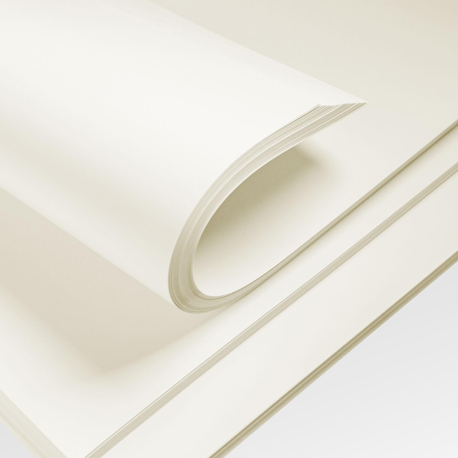 papier satynowany ivory