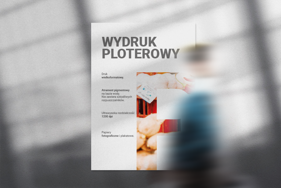 Wydruki ploter standard, drukarnia d3studio, druk.net.pl